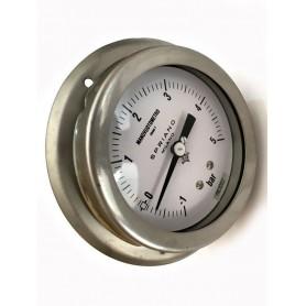 Manovuotometro Spriano acciaio Inox