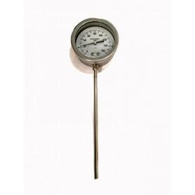 Termometro Acciaio Inox 0-160 °C